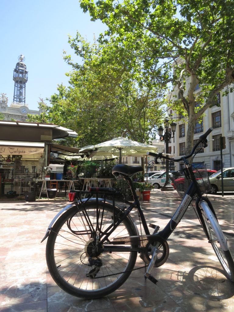 Mit dem Fahrrad durch Valencia