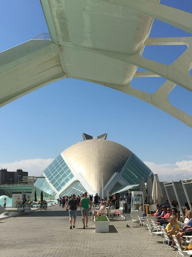 Futuristische Gebäude in Valencia