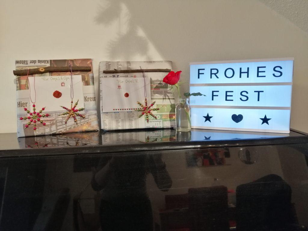 Weihnachtsdeko Geschenke