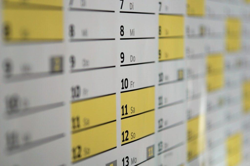 Geschenke nachhaltig verpacken Kalenderblätter