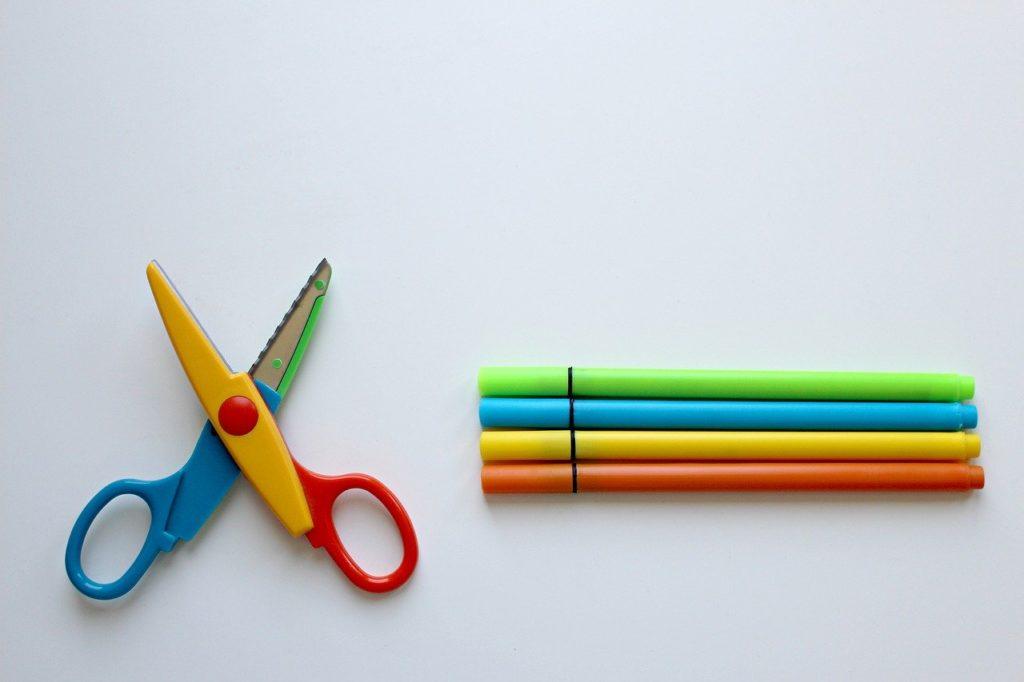 Basteln mit Kindern - Werkzeug