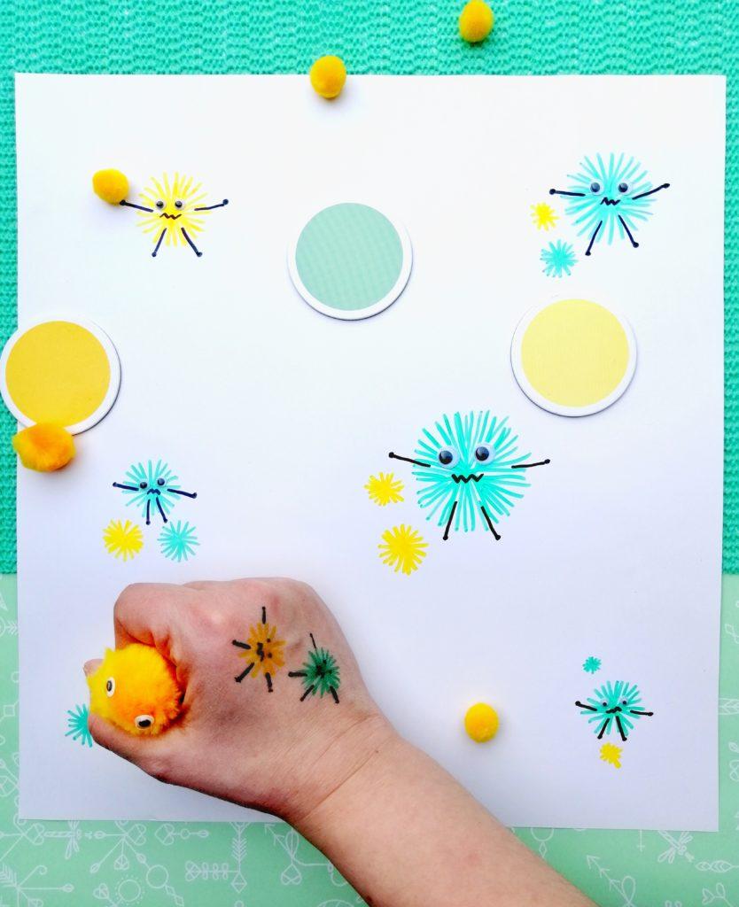 Struktur im Alltag mit Kindern - Virusmonster Corona