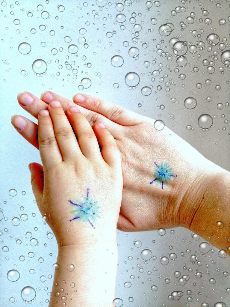 Struktur im Alltag mit Kindern - Händewaschen gegen Corona