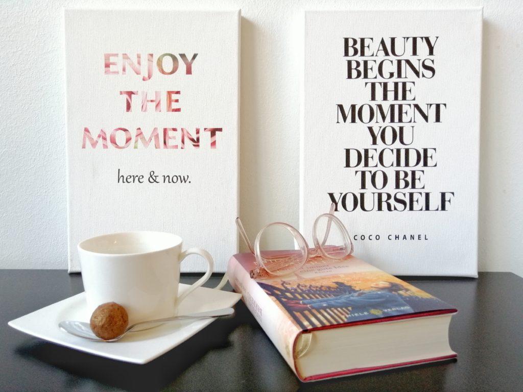 Lebe den Moment Wandbilder
