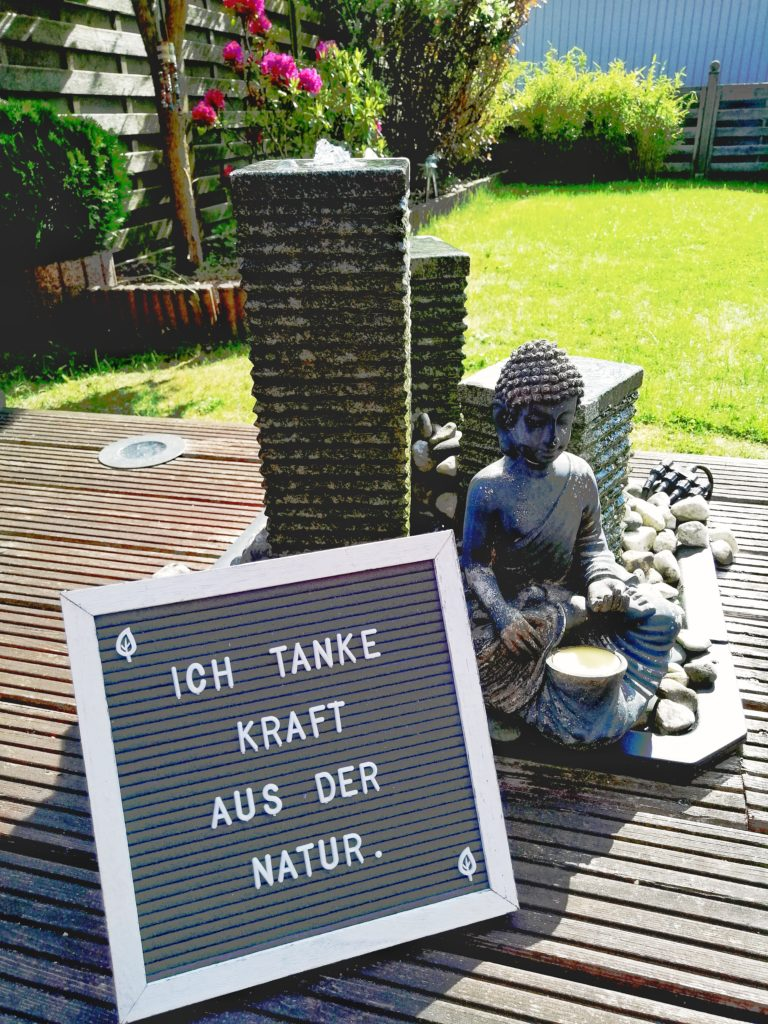 GLaubenssätze - Ich tanke Kraft aus der Natur.