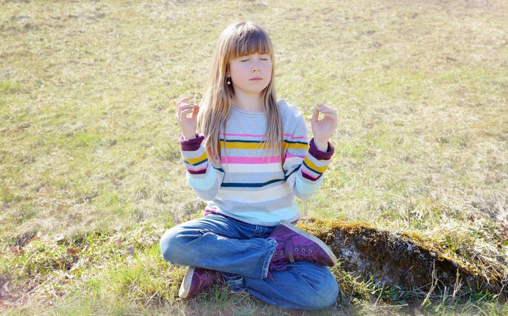 Me-Time MIT Kind - Meditieren