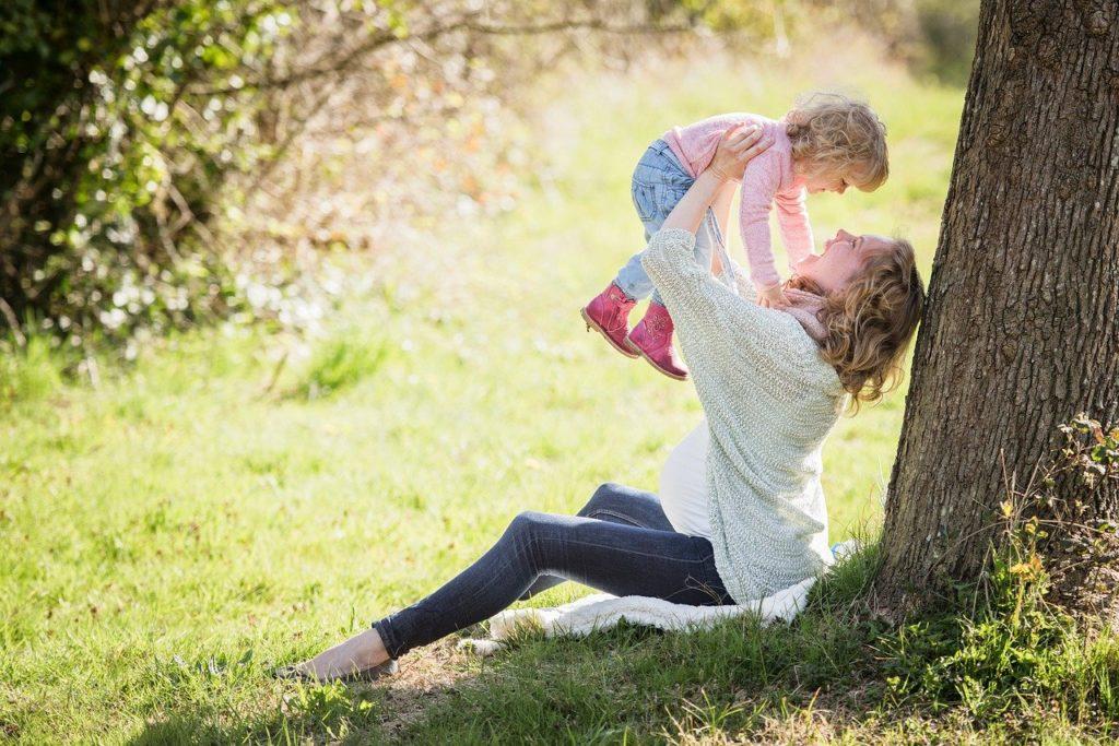 Körperliche Stärke für Mamas
